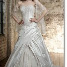 Free shipping fashion taffeta swarovski wedding dress 2011 EC162
