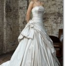 Free shipping fashion taffeta ruffle wedding dress 2011 EC164