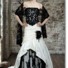 new styles black lace wedding gown 2011 EC168