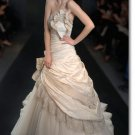 new styles taffeta ruffle wedding gown 2011 EC171