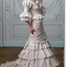 latest style lace long sleeve princess wedding gown 2011 EC174