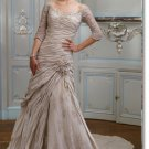 latest style lace long sleeve  wedding gown 2011 EC175
