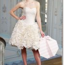 latest style short  wedding dress 2011 EC179