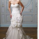latest style designer casual wedding dress 2011 EC191