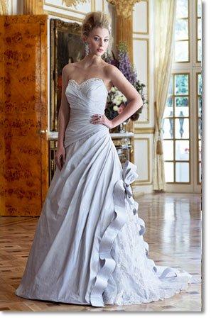 Free shipping designer casual wedding dress 2011 EC193