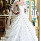 Free shipping designer lace wedding dress 2011 EC199