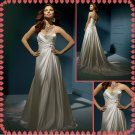 Free shipping strapless swarovski crystals wedding dresses 2011 EC208
