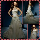 Free shipping strapless rhinestone wedding dresses 2011 EC210