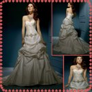 Free shipping strapless rhinestone wedding dresses 2011 EC211