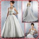 Free shipping two straps swarovski wedding dresses 2011 EC216