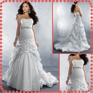 Free shipping swarovski wedding dresses 2011 EC218