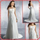 Free shipping chiffon beach wedding dresses 2011 EC224
