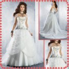Free shipping lace beaded wedding dresses 2011 EC226