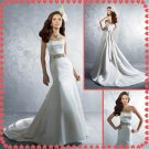 Free shipping strapless swarovski wedding dresses 2011 EC234