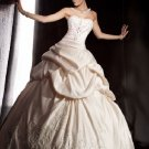 fashion latest swarovski embroidery wedding dress EC294