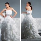 fashion latest ball gown wedding dress EC300