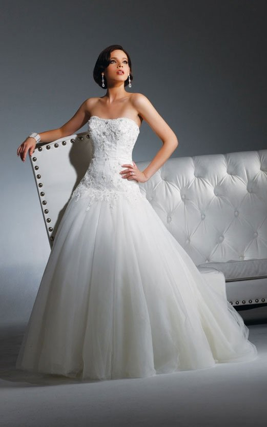 2011 the most popular wedding dress 2011 EC302