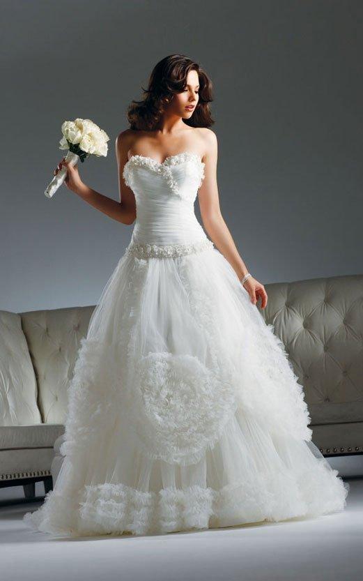 2011 new model ball gown wedding dress 2011 EC305