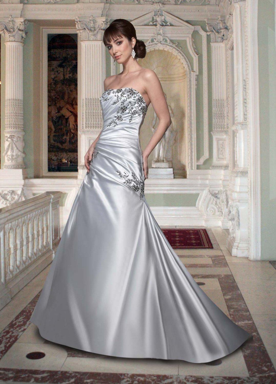 Free shipping new model black and white wedding dress EC319