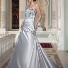 Free shipping new model black and white wedding dress EC319