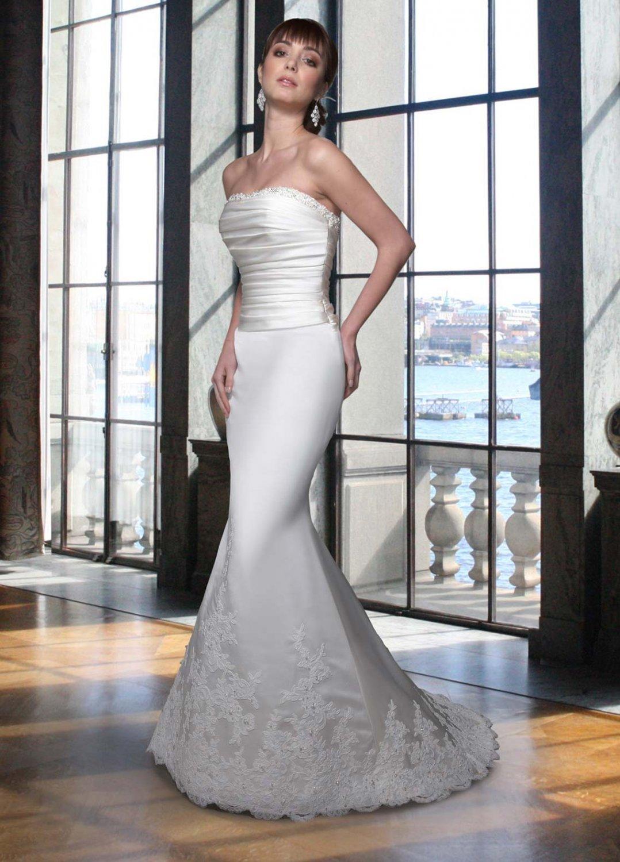 Free shipping new model mermaid wedding dress EC320