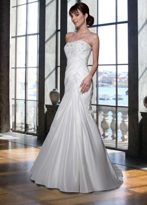 Free shipping new model mermaid wedding dress EC325