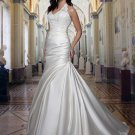 Free shipping new model lace mermaid wedding dress EC327