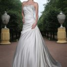 Free shipping new model swarovski wedding dress EC326