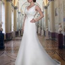 Free shipping the most popular off shoulder designer wedding dress EC330