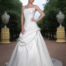 Free shipping the most popular spaghetti designer wedding dress EC331