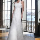 Free shipping the most popular halter designer wedding dress EC333
