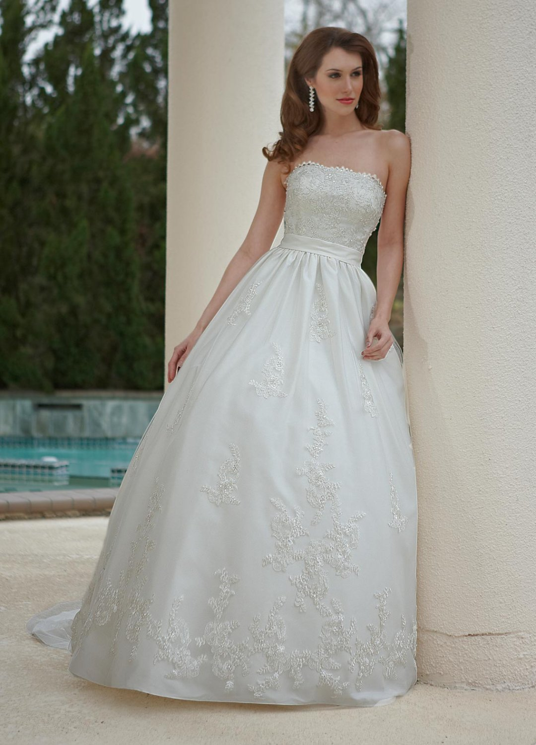 Free shipping the most popular lace wedding dress ec336 for Wedding dress free shipping