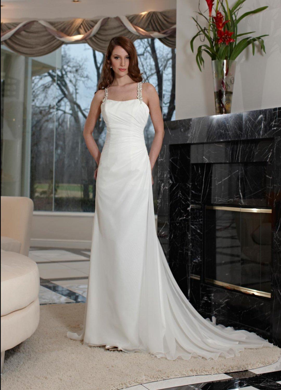 Free shipping the latest swarovski crystals wedding dresses EC340