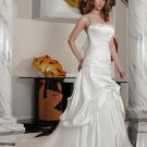 Free shipping the latest  one strap swarovski wedding dresses EC341