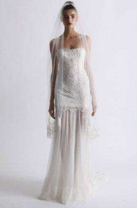 Free shipping fashion  vera wang wedding dress 2012 EC360