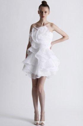 Free shipping latest style vera wang wedding dress 2012 EC362