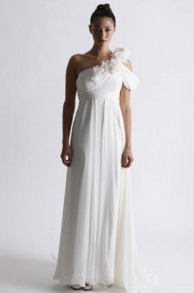 Free shipping latest style vera wang wedding dress 2012 EC365