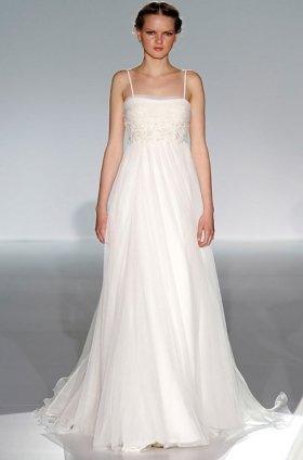 Free shipping latest style vera wang wedding dress 2012 EC366