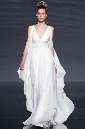 Free shipping latest style vera wang wedding dress 2012 EC368
