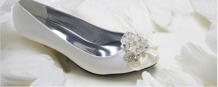 swarovski crystals and rhinestone shiny wedding shoes S004