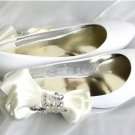 swarovski crystals and rhinestone shiny wedding shoes S010