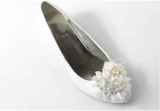 swarovski crystals and rhinestone shiny wedding shoes S016
