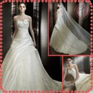 Free shipping the most popular lace wedding dress 2012 EC380