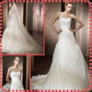 Free shipping organza 2012 bridal wedding dress EC392