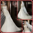 Free shipping 2012 rhinestone bridal mermaid wedding dress EC396