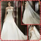 2012 new style silver satin wedding dress EC407