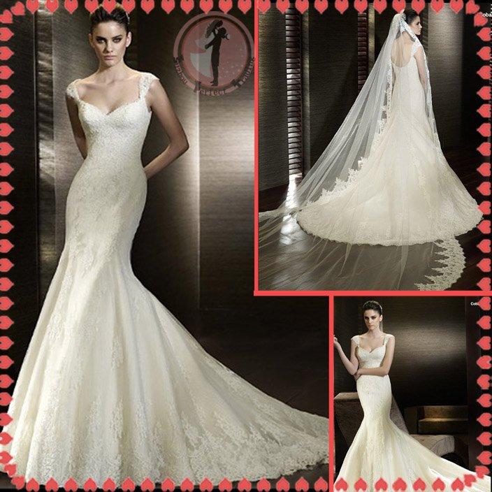2012 new model off shoulder bridal wedding dress EC413