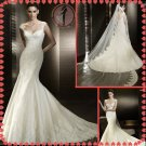 2012 new model off shoulder bridal wedding dress EC413