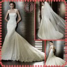 2012 new model bridal mermaid sexy lace wedding dress EC420