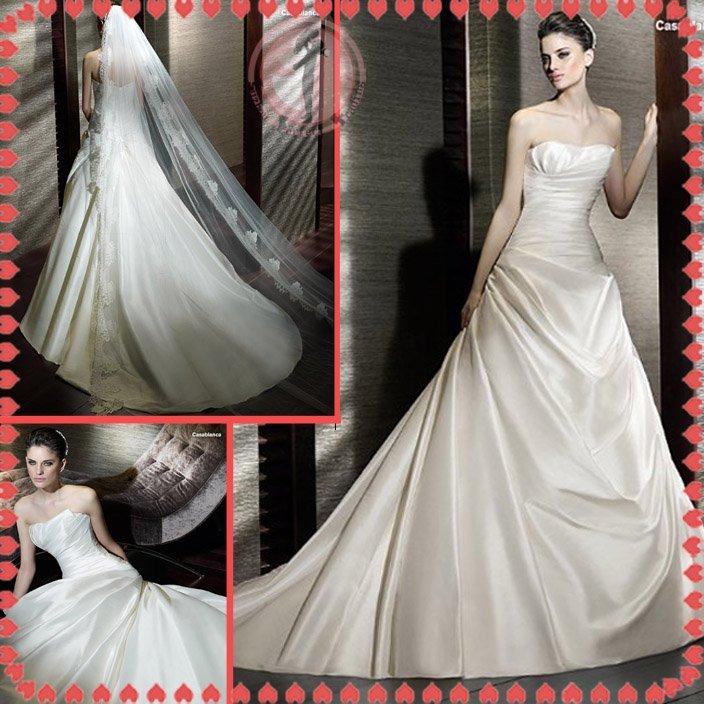 2012 new model bridal sexy wedding dress EC423